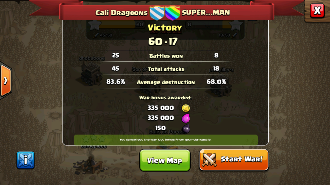 Cali Dragoons with the smack down!