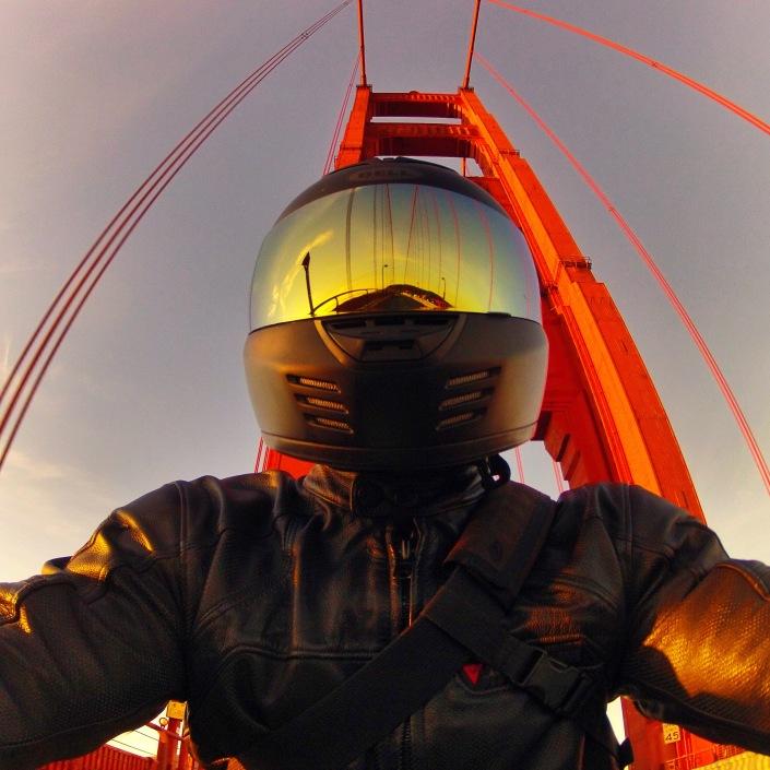Selfie With The Golden Gate Bridge