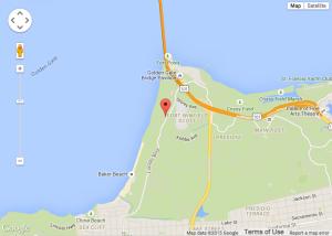 Pacific Overlook via Google Map